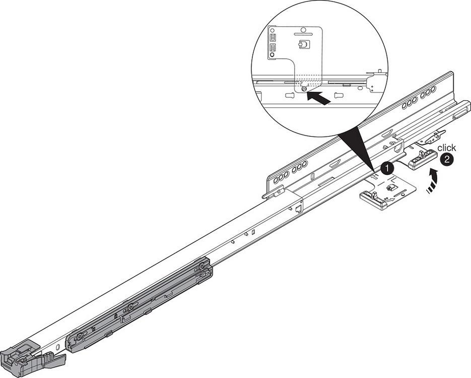 Blum T60L7570 MOVENTO Heavy Duty L5 TIP-ON BLUMOTION Unit, Black :: Image 40
