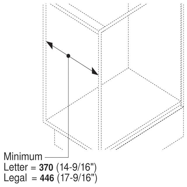 Blum ZRM.5500.US METAFILE Standard Kit, White :: Image 70
