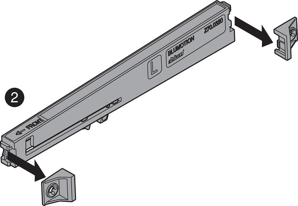 Blum Z70.0320 BLUMOTION for METABOX :: Image 150