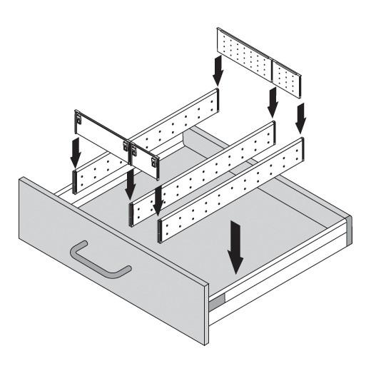 Blum ZSI.550MI3 22in 3-Tiered Cutlery/Utensil Organizer, Inox :: Image 130