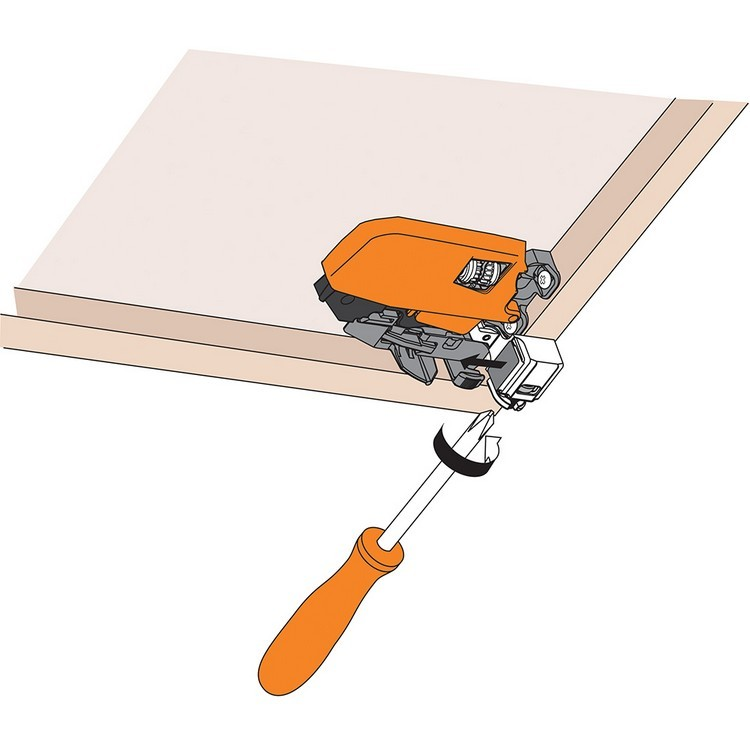 Blum T51.1901.PS R Tandem 563/569 Depth Adjustable Locking Device, Right :: Image 100