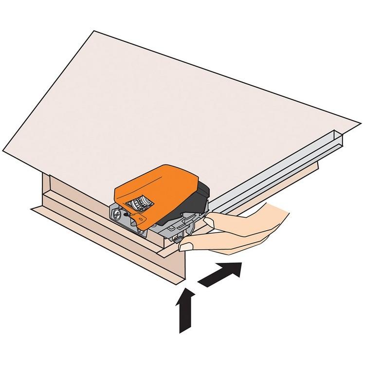 Blum T51.1901.PS L Tandem 563/569 Depth Adjustable Locking Device, Left :: Image 40