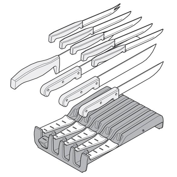 Blum ZSZ.02M0 7-1/16 W Knife Holder :: Image 50