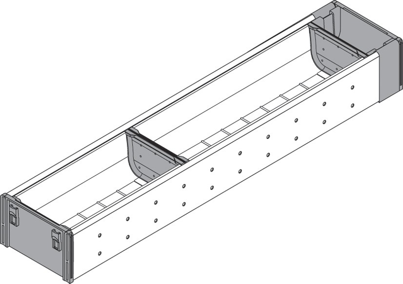 Blum ZHI.533BI1A 4-1/4 W Cutlery Drawer Insert Set - 1-Tier :: Image 30