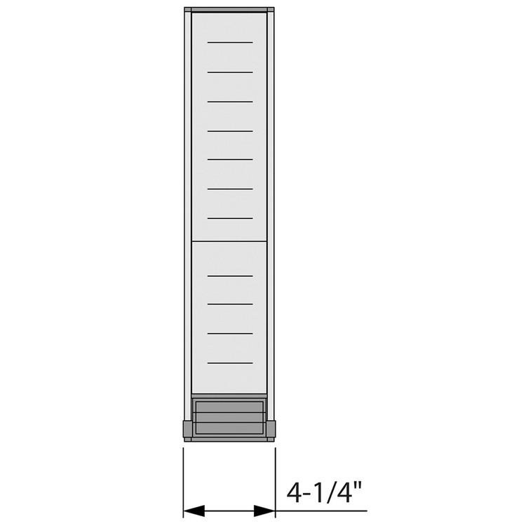 Blum ZHI.533BI1A 4-1/4 W Cutlery Drawer Insert Set - 1-Tier :: Image 40
