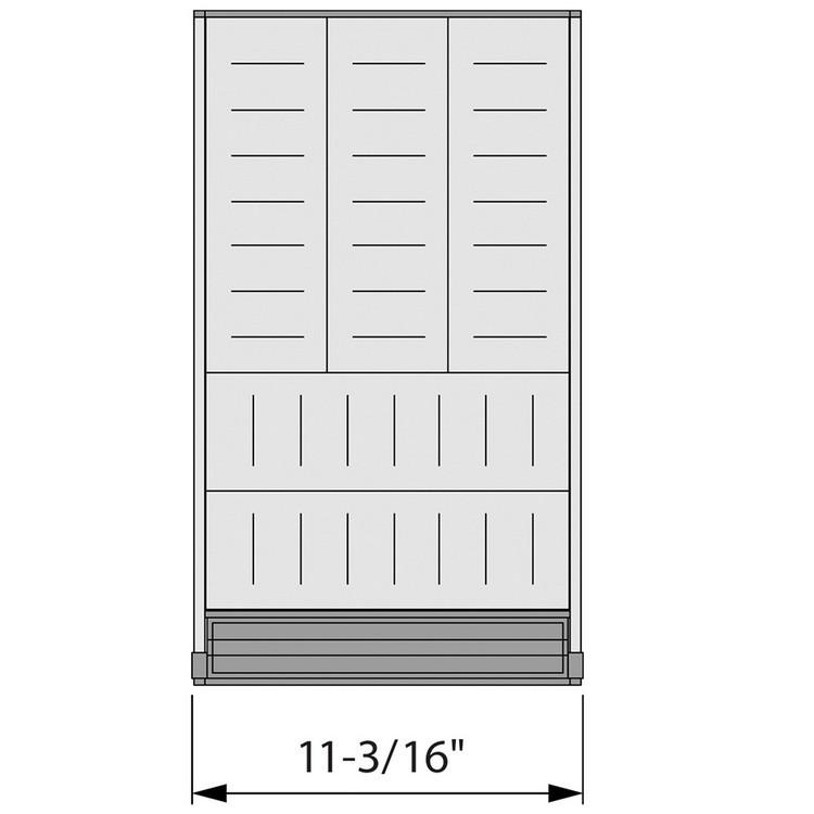 Blum ZHI.533KI4A 15 W Cutlery Drawer Insert Set - 4-Tier :: Image 50