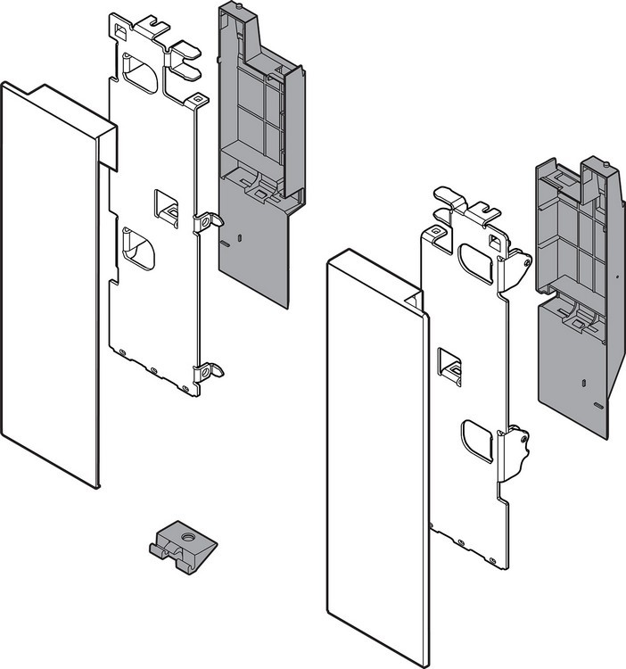 Blum Zi7 3cs0 Legrabox C Height 7 Quot Interior Front Fixing