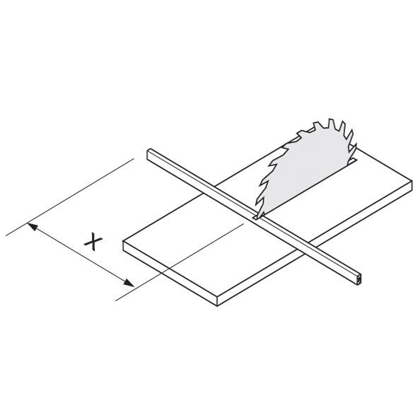 Blum TANDEMBOX Drawer System ZRG.1046Z 1046mm Intivo Cross Gallery Rail, Gray 1046mm Intivo Cross Gallery Rail, Gray :: Image 30