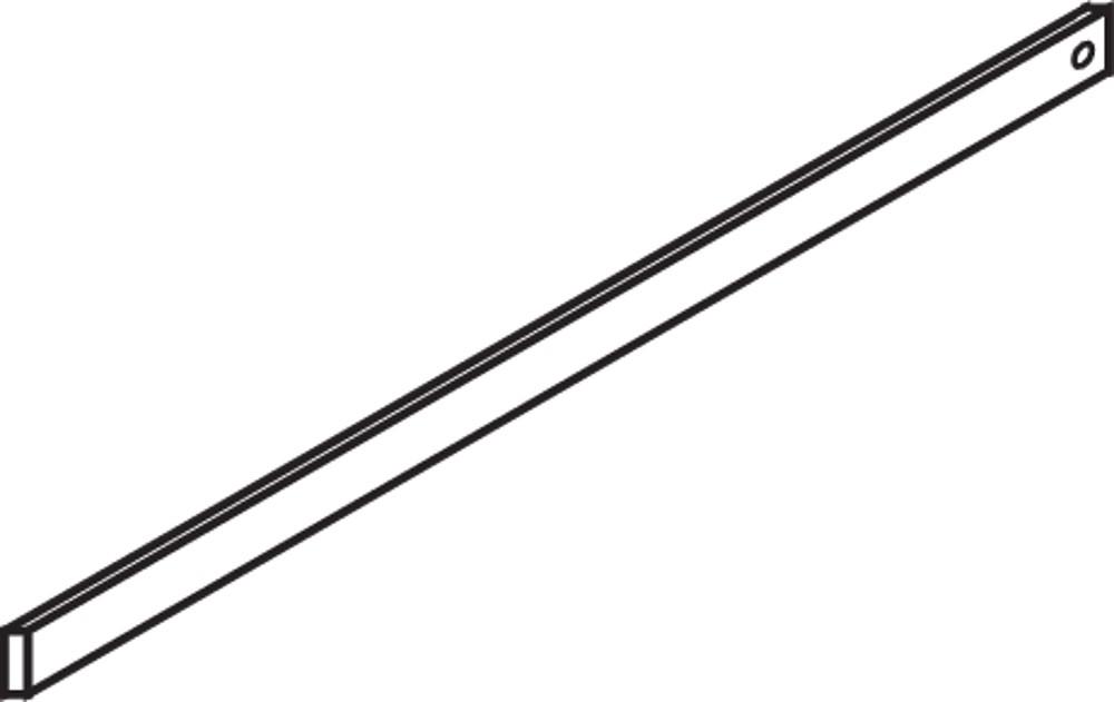 Blum ZRM.1100S METAFILE Steel Hanging Rail, Zinc :: Image 10