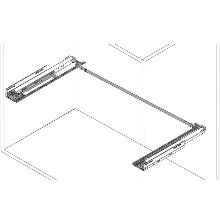 "Blum ZS7.650LU LEGRABOX 18""-24"" Lateral Stabilizer Set :: Image 20"