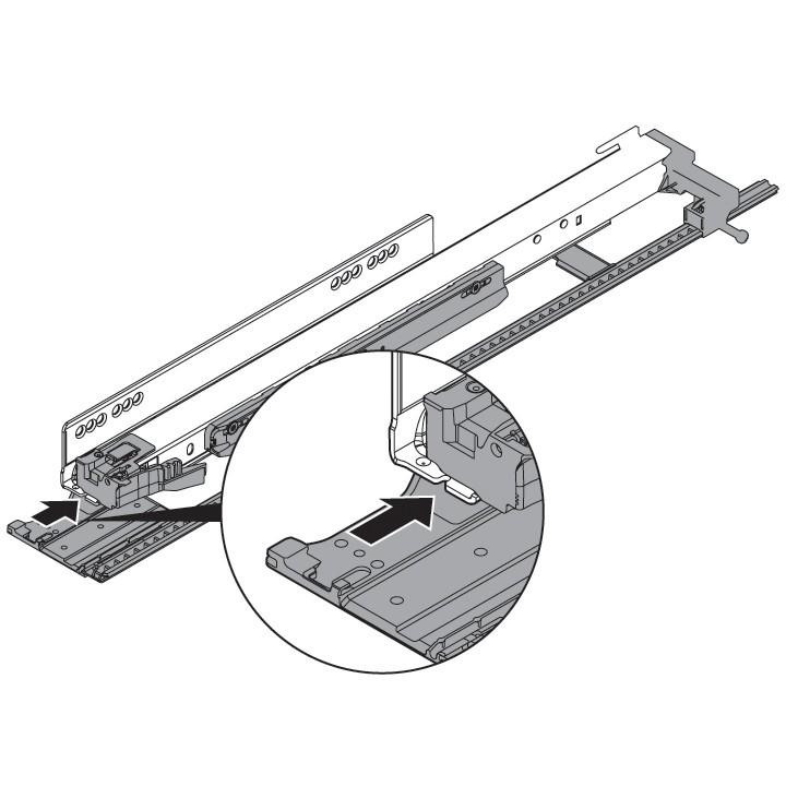 "Blum ZS7.650LU LEGRABOX 18""-24"" Lateral Stabilizer Set :: Image 50"