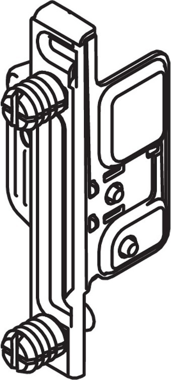 Blum ZSF.130E METABOX Left Hand Clip Front Fixing Bracket, EXPANDO :: Image 20
