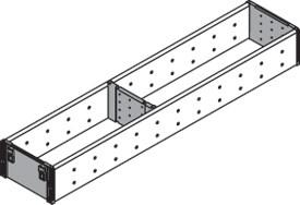 Blum ZSI.500FI1 20in Single Tiered Utensil Organizer, Inox :: Image 50