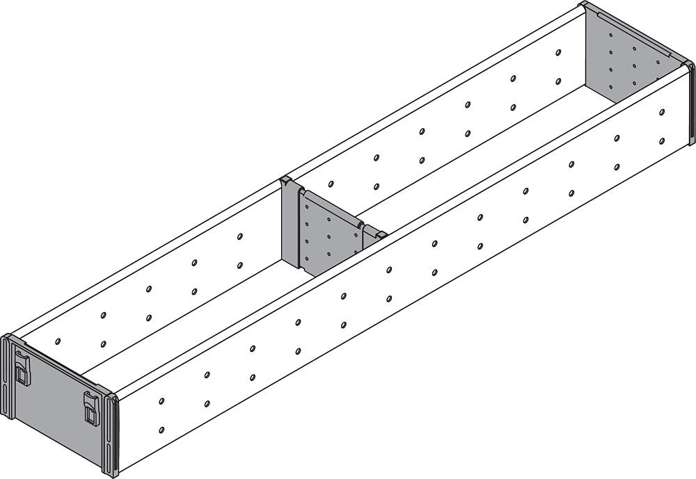 Blum ZSI.550FI1 22in Single Tiered Utensil Organizer, Inox :: Image 10