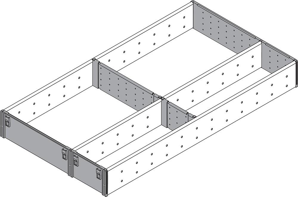 Blum ZSI.550FI3 22in 3-Tiered Utensil Organizer, Inox :: Image 80
