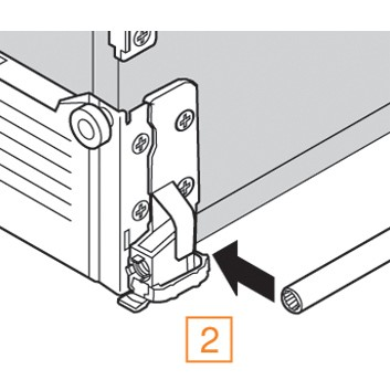 Blum ZST.550MH METABOX 330 Lateral Stabilizer Kit :: Image 90