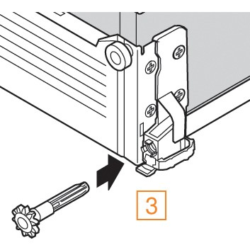 Blum ZST.550MH METABOX 330 Lateral Stabilizer Kit :: Image 100