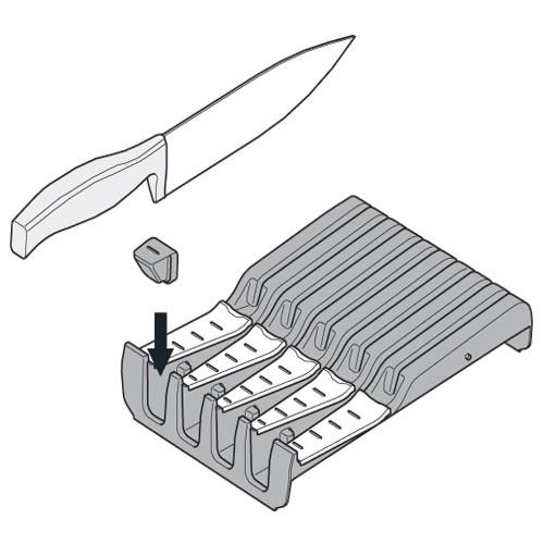Blum ZSZ.02M0 7-1/16 W Knife Holder :: Image 60