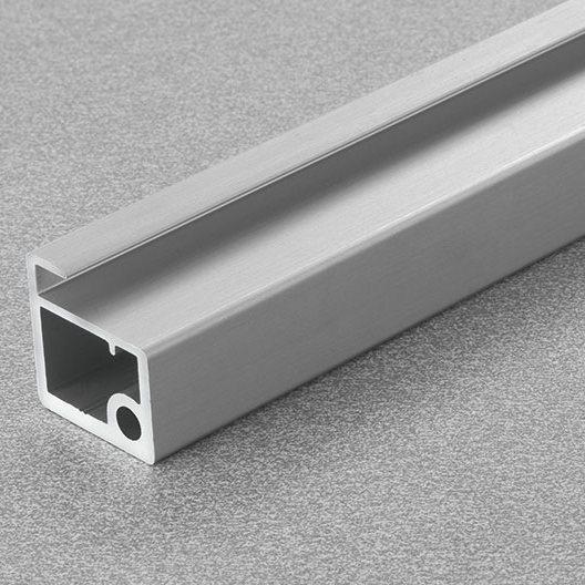 """Salice DEL6LP300P, 118"""" Aluminum Door Profile for Air Hinge, Anodized Aluminum :: Image 10"""