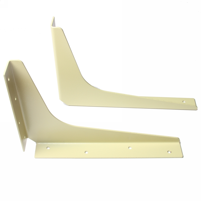 "WE Preferred B08-05081-7K4 Bulk-5 Pairs, 5""x8"" Workstation Bracket, Almond :: Image 10"