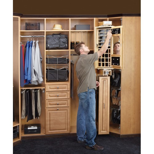 Rev-A-Shelf CAG-081642-1 - Gentleman's Closet Armoire :: Image 10