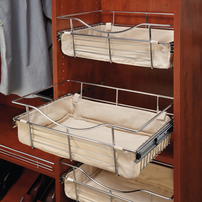 Rev-A-Shelf CBL-181207-T-1 - Tan Closet Basket Liner :: Image 20
