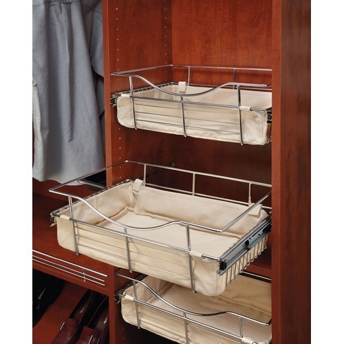 Rev-A-Shelf CBL-241211-T-1 - Tan Closet Basket Liner :: Image 10