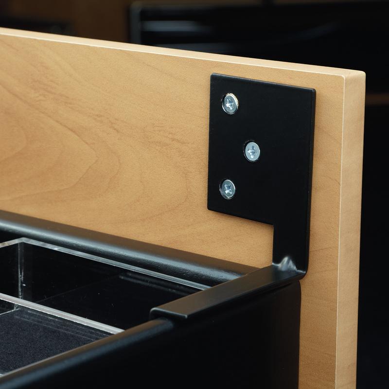 Rev-A-Shelf CJD-DMB-KIT, Drawer Front Mounting Bracket for Rev-A-Shelf's CJD Series Jewelry Drawer :: Image 20