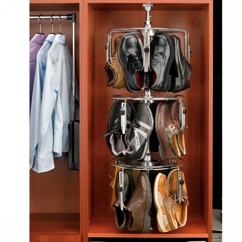 Rev-A-Shelf CLSZ-M3-55-1 - 3-Shelf Men's Shoe-Zen with Shaft :: Image 40