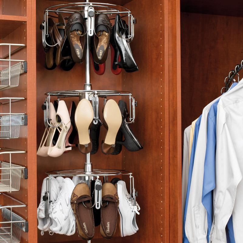 Rev-A-Shelf CLSZ-W3-55-1 - 3-Shelf Women's Shoe-Zen with Shaft :: Image 20