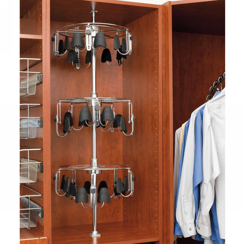 Rev-A-Shelf CLSZ-M3-55-1 - 3-Shelf Men's Shoe-Zen with Shaft :: Image 30