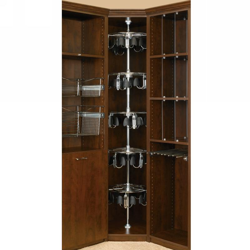 Rev-A-Shelf CLSZ-W5-96-1 - 5-Shelf Women's Lazy Shoe-Zen with Shaft :: Image 20