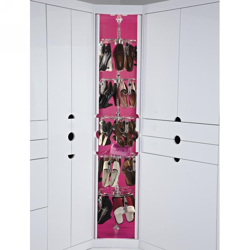 Rev-A-Shelf CLSZ-W5-96-1 - 5-Shelf Women's Lazy Shoe-Zen with Shaft :: Image 30