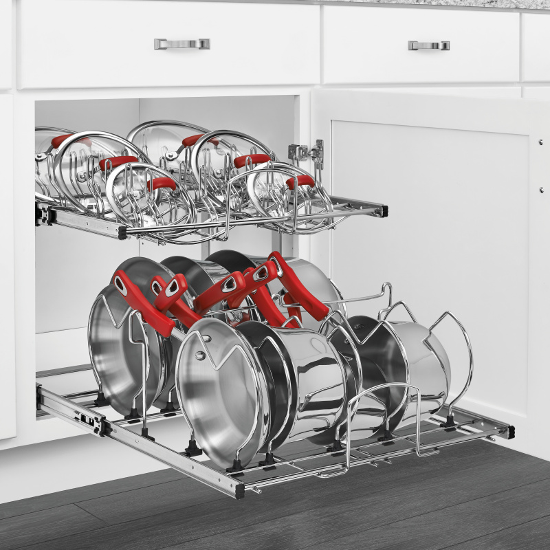 Rev-A-Shelf 5CW2-2122-CR - 21in Two-Tier Cookware Organizer :: Image 20