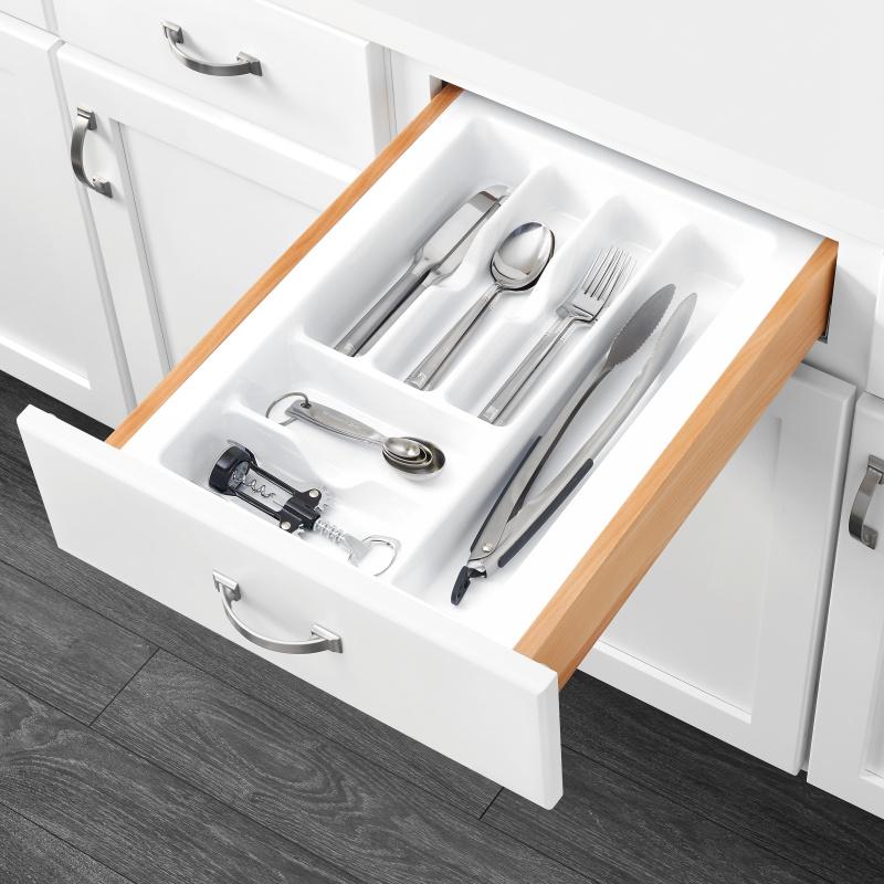 "14-1/4"" Cutlery Drawer Insert, Plastic, White, Rev-a-shelf  CT-2W-20 :: Image 20"