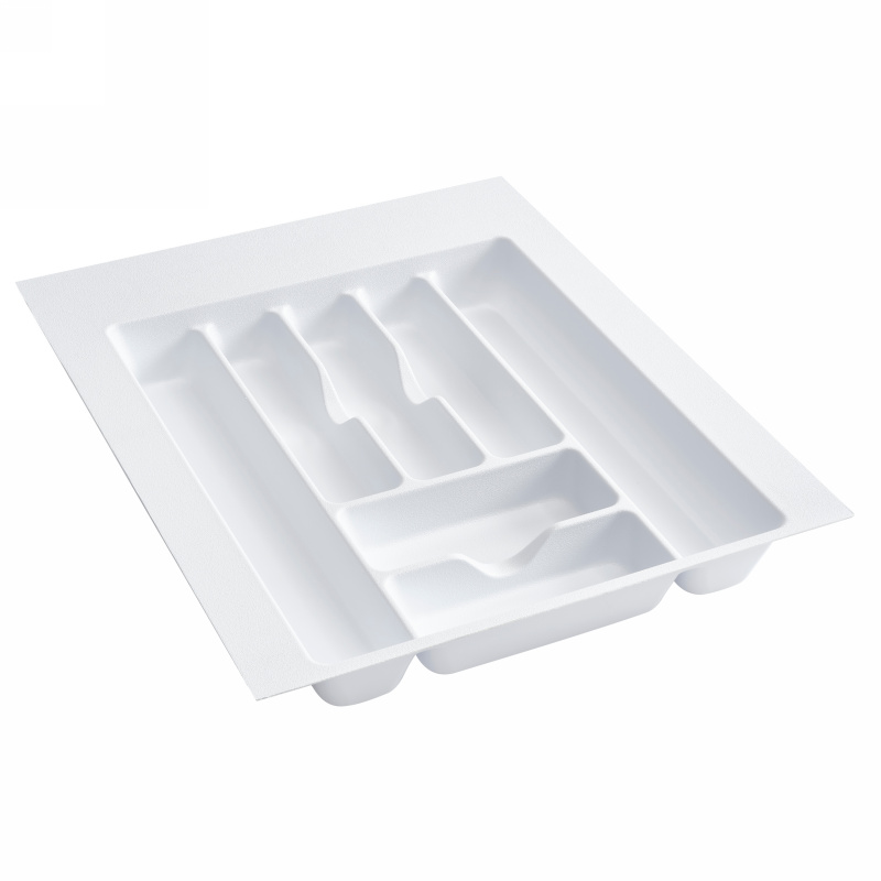 "17-1/2"" Cutlery Drawer Insert, Plastic, White, Rev-a-shelf  CT-3W-20 :: Image 10"