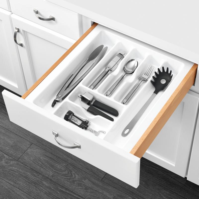 "17-1/2"" Cutlery Drawer Insert, Plastic, White, Rev-a-shelf  CT-3W-20 :: Image 20"