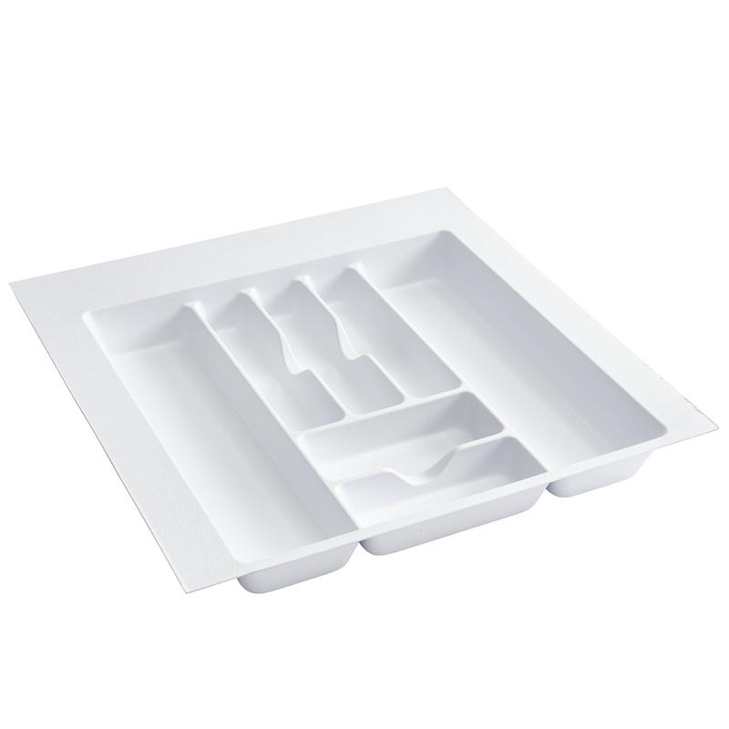 "21-7/8""W Cutlery Drawer Insert, Plastic, White, Rev-a-shelf  CT-4W-10 :: Image 10"