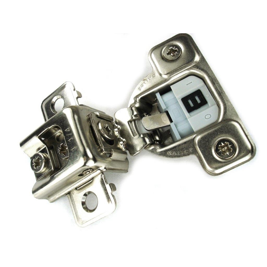 "Salice CUR3AD9R 106° Soft-Closing Hinge, 1-1/4"" Overlay, 3 Cam, Dowel :: Image 10"
