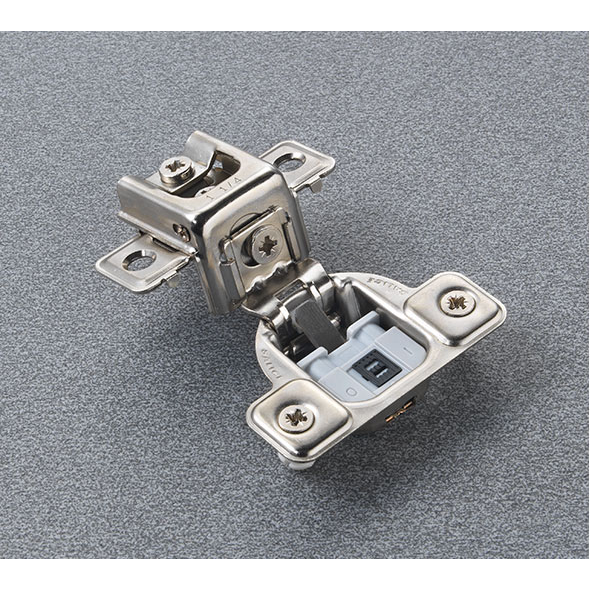 "Salice CUR3AD9R 106° Soft-Closing Hinge, 1-1/4"" Overlay, 3 Cam, Dowel :: Image 30"