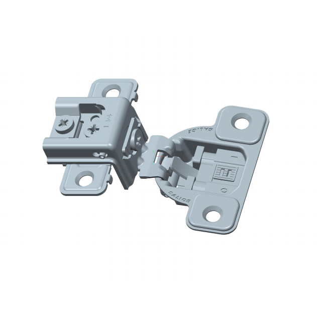 "Salice CUR3AD9R 106° Soft-Closing Hinge, 1-1/4"" Overlay, 3 Cam, Dowel :: Image 20"