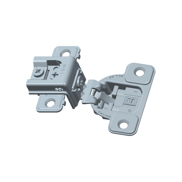 "Salice CUP3BD9R 106° Soft-Closing Hinge, 1-5/16"" Overlay, 3 Cam, Screw-On :: Image 10"