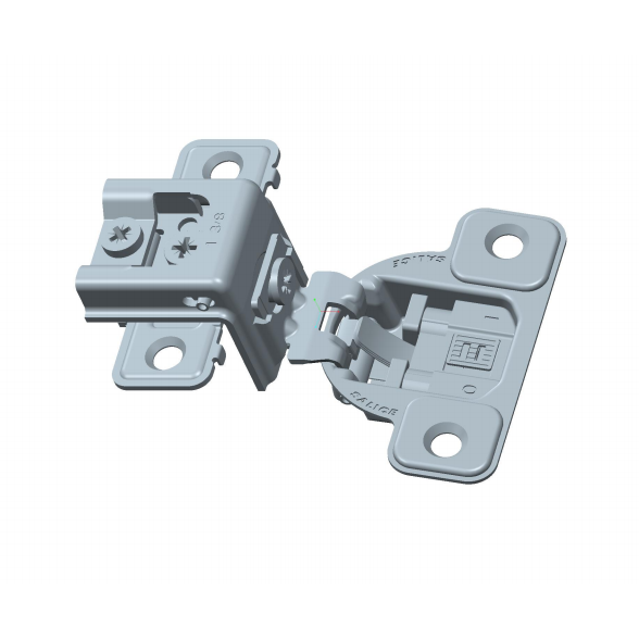 "Salice CUP3CD9R 106° Soft-Closing Hinge, 1-3/8"" Overlay, 3 Cam, Screw-On :: Image 10"