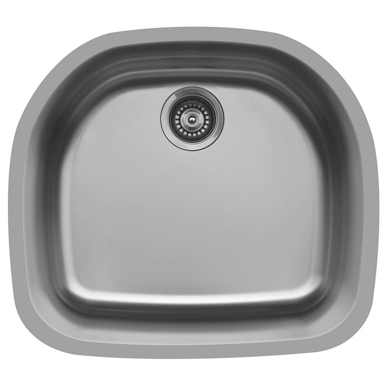 "Karran E330, Edge 32-1/2"" x 21-1/2"" Undermount D-Shaped Kitchen Sink :: Image 10"
