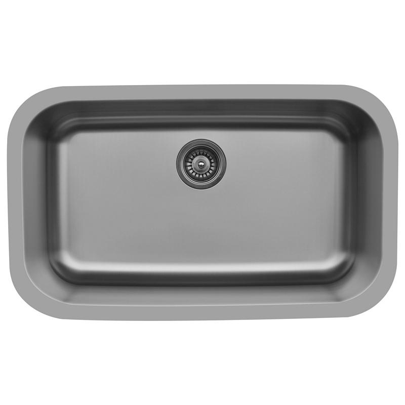 "Karran E340, Edge 31"" x 19"" Undermount Extra Large Kitchen Sink, Single Bowl :: Image 10"