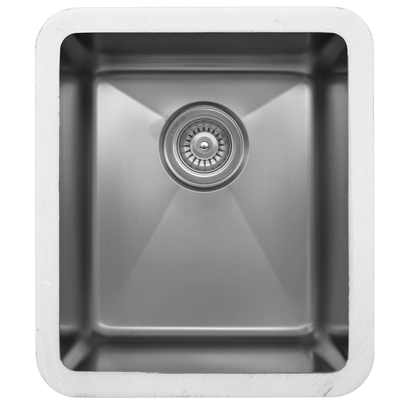 "Karran E-415, Edge 16-1/4"" x 18-1/4"" Undermount Kitchen Sink, Single Bowl, ADA :: Image 10"