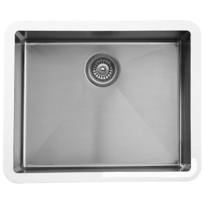 """Karran E-420, Edge 24-1/4"""" x 18-1/4""""  Undermount Kitchen Sink, Single Bowl :: Image 10"""