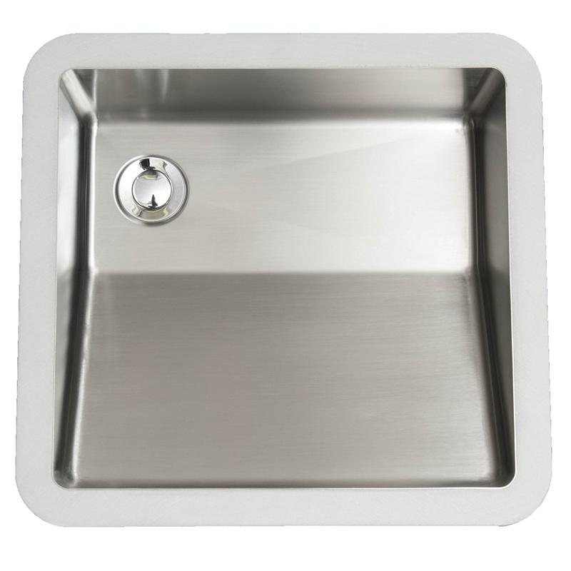 "Karran E505, Edge 18-1/4"" x 15-7/8"" Undermount Vanity Sink, Single Bowl, ADA :: Image 10"