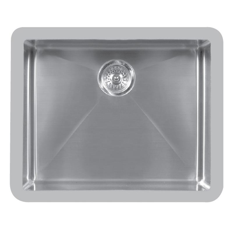 """Karran E525, Edge 23-1/2"""" x 19-1/2"""" Undermount Kitchen Sink, Single Bowl, ADA :: Image 10"""