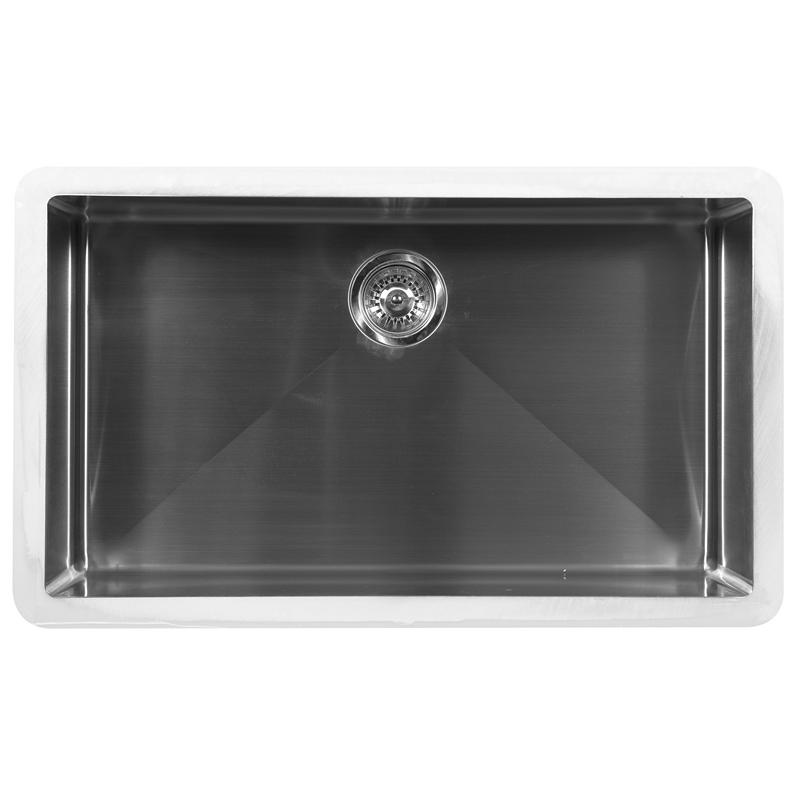 """Karran E540, Edge E-540 32-1/2"""" x 19-1/2"""" Undermount Kitchen Sink, Extra Large Single Bowl :: Image 10"""